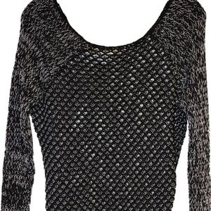 Helmut Lang Open-knit Thick Italian Yarn sweater P